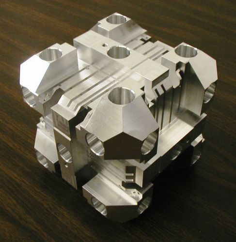 "Precision Milling Projects with .001"" Tolerance 